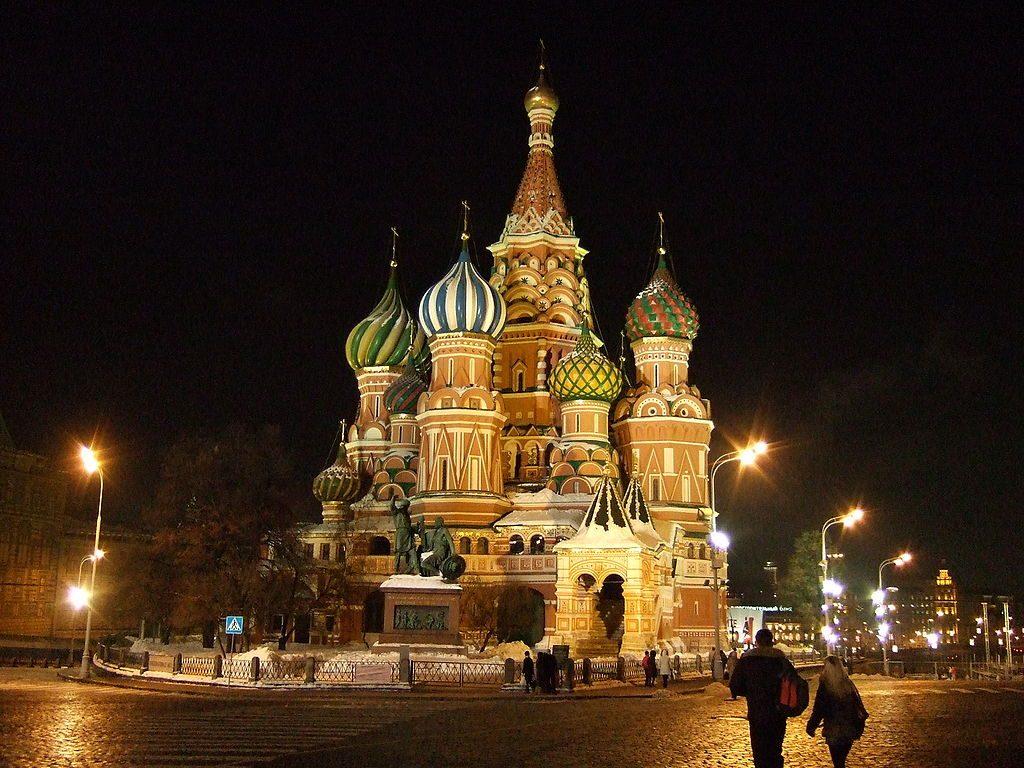 Basiliuskathedraal in Moskou - cc