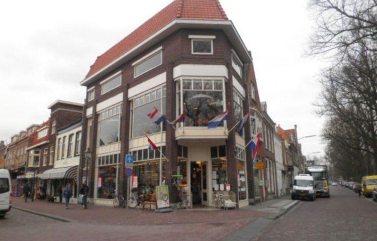Het oudste als Blokkerwinkel gebouwde pand aan de Breed en Veemarkt in Hoorn.