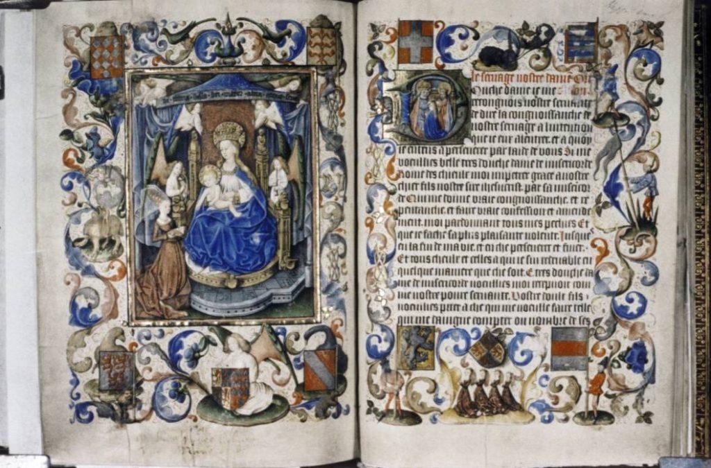 Getijdenboek van Yolande van Lalaing (wiki)