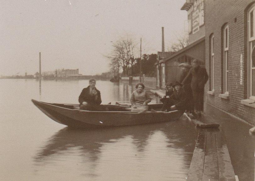 Overstroming in Cuijck