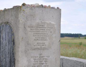 Oorlogsmonument in het Poolse Jedwabne