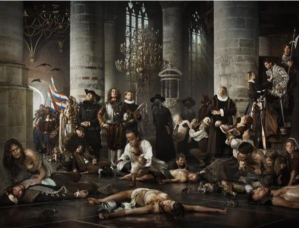 Liberty – pest en honger tijdens Leidens Beleg – Erwin Olaf, 2011