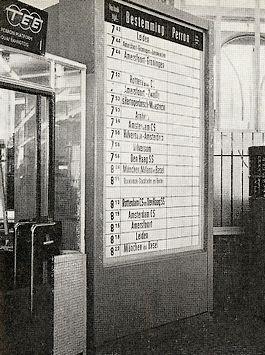 Oud informatiebord