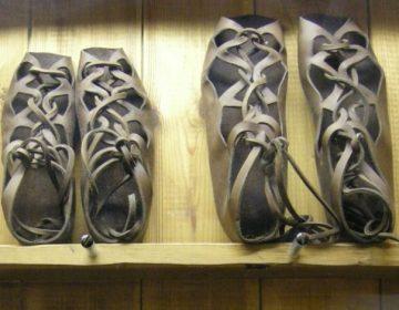 Willekeurige afbeelding van een Romeinse sandaal – Foto: CC/Linda Spashett