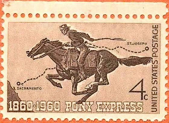3 april 1860 - De eerste rit van de Pony Express vertrekt