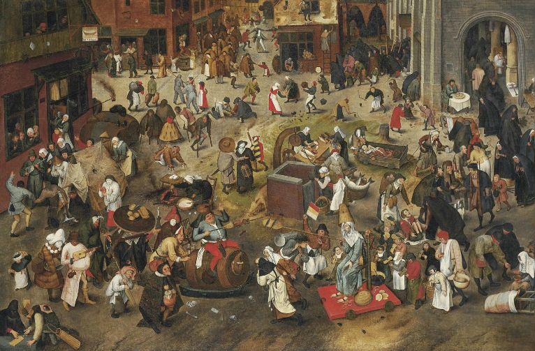 Carnaval volgens Pieter Bruegel de Oude