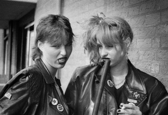 tentoonstelling over punk in nederland