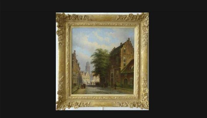 Het Maarten van Rossemhuis aan de Nonnenstraat in Zaltbommel – Eduard Alexander Hilverdink