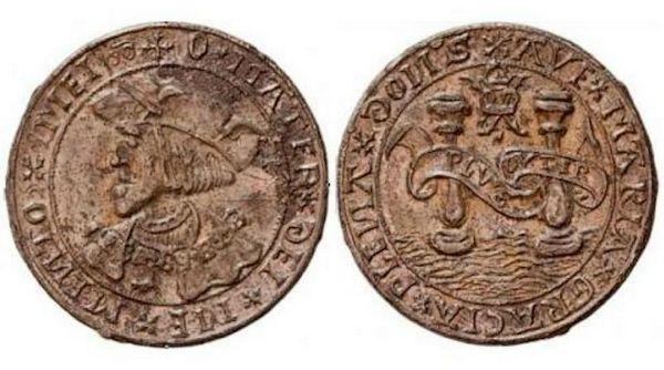 Voor- en achterzijde van de penning - Foto: Raakvlak