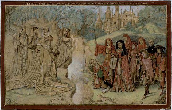 De Grafelijke vispartij – Jan van Eyck (Louvre)