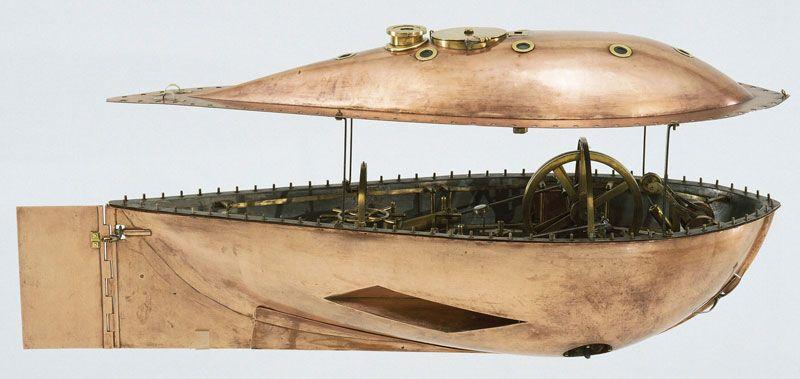 De duikboot van Lipkens – Rijksmuseum Amsterdam