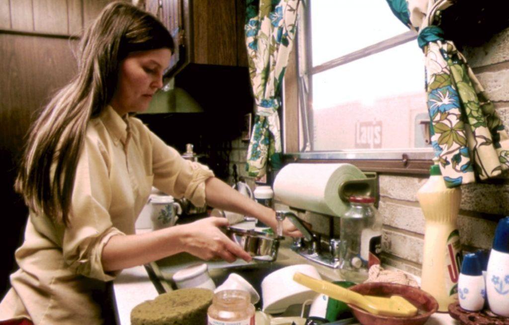 Maar het huishouden doen mochten vrouwen wel... (NARA)