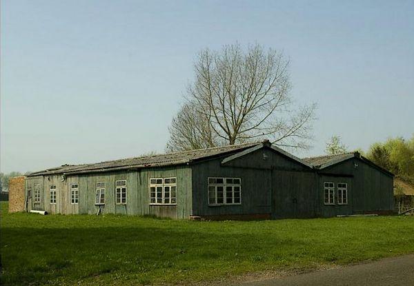 De barak in Wageningen – Foto: Anton van Drumpt