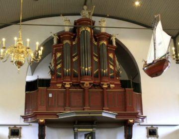 Het Meere-orgel uit 1792 in de Bethelkerk op Urk (CC BY-SA 3.0 - Pa3ems - wiki)