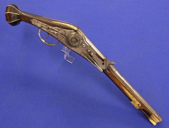 Zestiende-eeuws radslotpistool