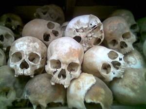 Slachtoffers van de Rode Khmer