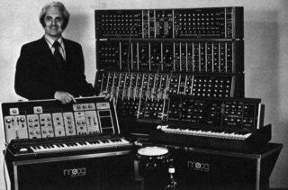 Robert Moog (1934-2005) - Amerikaanse instrumentenmaker