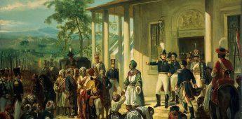 De gevangenneming van prins Diponegoro door generaal De Kock