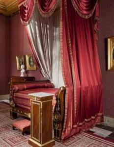 Bed van Lodewijk Napoleon in het Paleis op de Dam