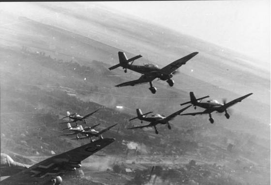 Stuka-bommenwerpers – Foto: Bundesarchiv