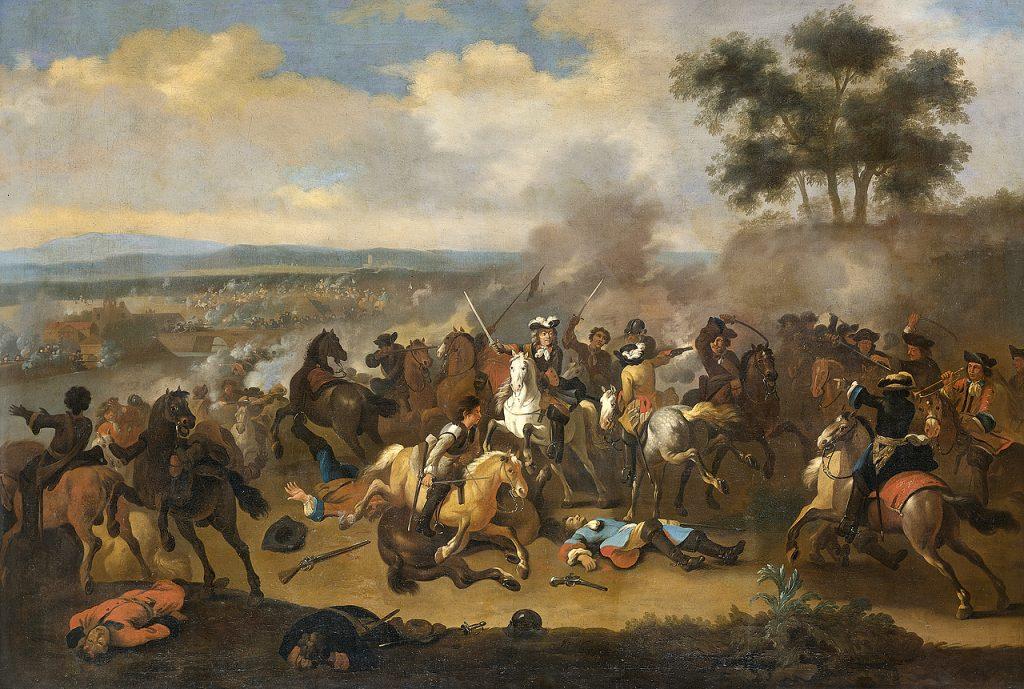 De slag aan de Boyne, 1690 (Jan van Huchtenburg, Rijksmuseum)