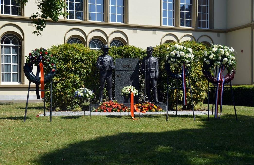 KNIL monument op landgoed Bronbeek