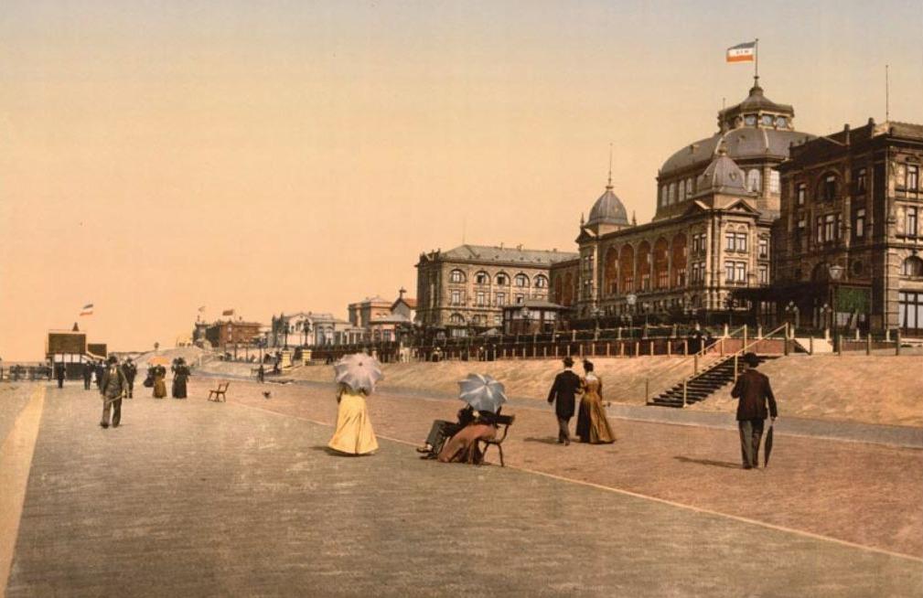 Kurhaus rond 1890