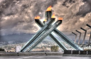 Olympisch vuur in Cancouver - (cc - Duncan Rawlinson)
