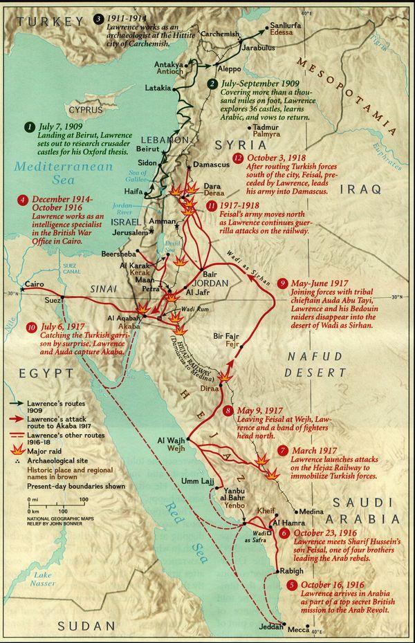 De arabische opstand van 1916 for Arabische havenstad