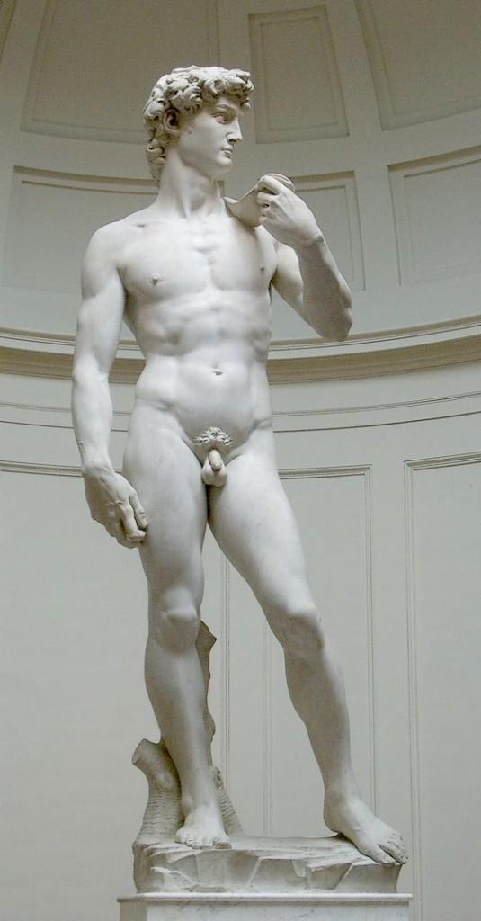 De echte David van Michelangelo