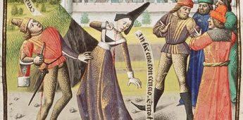 Zelfmoord in de middeleeuwen: een grote schande