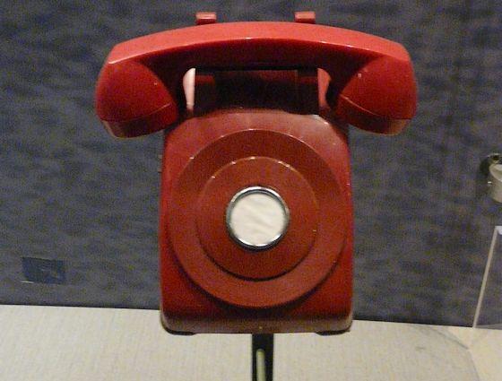 Rode telefoon, voor directe communicatie tussen Moskou en Washington