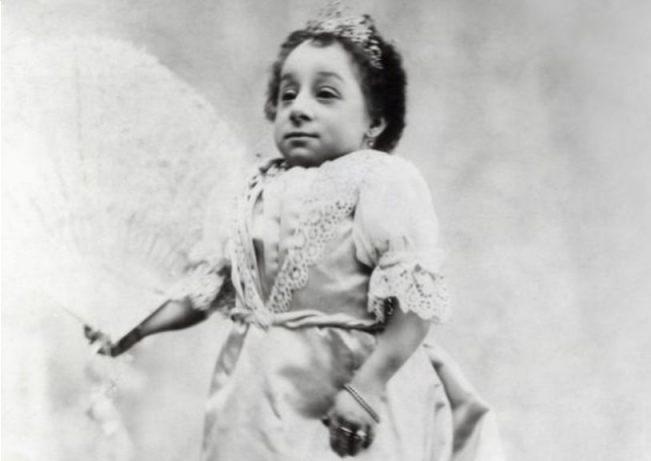 Prinses Paulina, het kleinste vrouwtje aller tijden