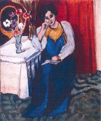 La Liseuse en Blanc et Jaune – Henri Matisse, 1919
