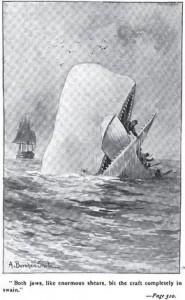 Afbeelding uit Moby Dick
