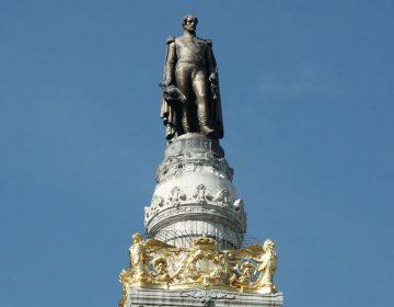 Standbeeld van Leopold I op de Congreskolom - wiki