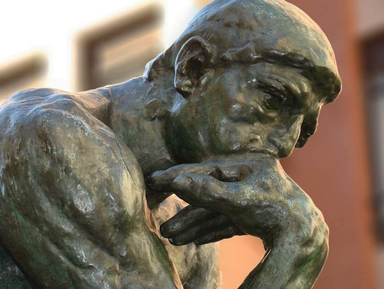 'De Denker' van Rodin – Foto: CC/Nicolás Pérez