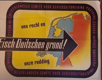 Nederland wilde grote delen Duitsland inlijven