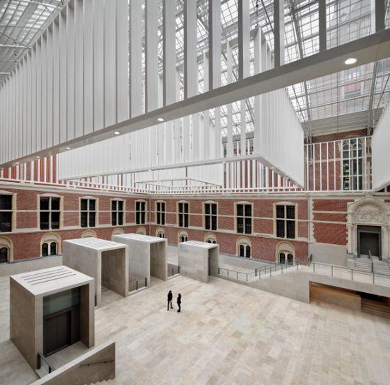 Atrium van het nieuwe Rijksmuseum – Foto: Rijksmuseum / Pedro Pegenaute