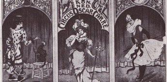 Oscar Carré en zijn circustheater in Amsterdam