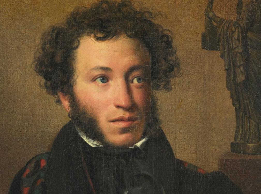 Poesjkin door Orest Kiprenski, 1827