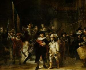 Nachtwacht van Rembrandt van Rijn, 1642