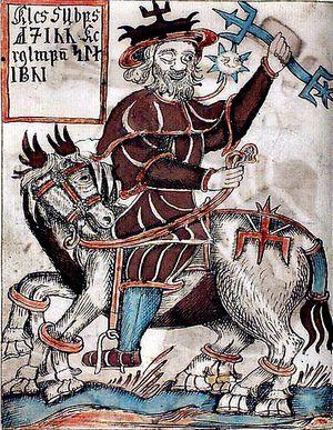 Odin en Sleipnir
