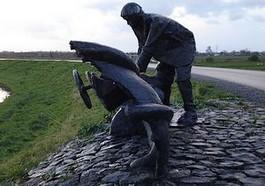 Monument op de Groenedijk bij Nieuwerkerk aan den IJssel