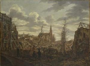 Leiden na de Buskruitramp van 1807