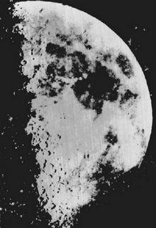 Maanfoto van John Adams Whipple uit 1851