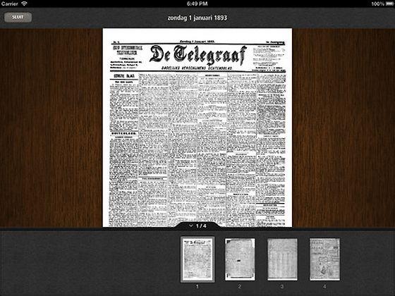 Krantenarchief van De Telegraaf