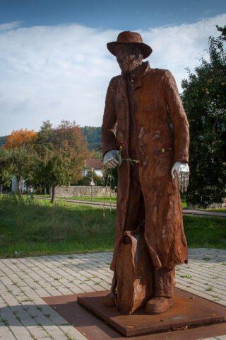 Standbeeld van Georg Elser in Königsbronn