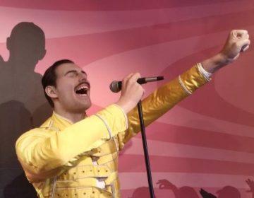 Wassenbeeld van Freddie Mercury, gemaakt in 1991, Madame Tussauds in Amsterdam - cc