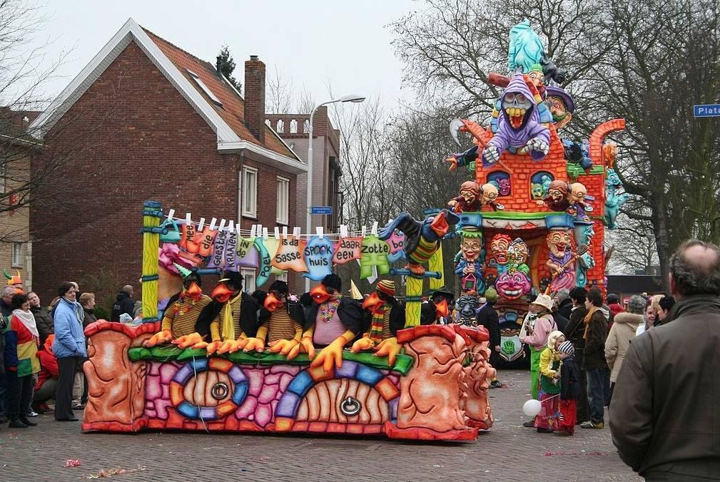 Carnavalsoptocht   in Betekoppenstad (Sas van Gent), 2007